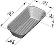Форма для расстойки (литая алюминиевая, 285 х 134 х 64 мм). Цену уточняйте (т. +375 17 294-03-37, 294-01-42