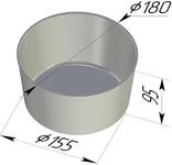 Форма хлебопекарная круглая (литая алюминиевая, 180 х 155 х 95 мм). Цену уточняйте ( т. +375 17 294-03-37, 294-01-42)
