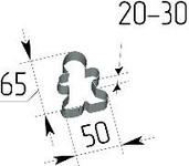 Вырубка Пряничный человечек. Цену уточняйте (т. +375 17 294-03-37, 294-01-42)