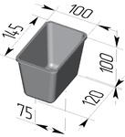 Форма хлебопекарная прямоугольная № 11 (литая алюминиевая, 145 х 100 х 100 мм). Цену уточняйте (т. +375 17 294-03-37, 210-01-48)