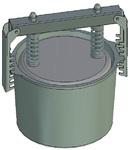 Пресс-форма круглая ПФ-185 К. Цену уточняйте (т. +375 17 294-03-37, 294-01-42)
