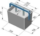 Пресс-форма прямоугольная ПФ-275 П. Цену уточняйте (т. +375 17 294-03-37, 210-01-48)