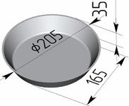 Форма хлебопекарная круглая № 17 В (литая алюминиевая, 205 х 165 х 35 мм). Цену уточняйте (т. +375 17 294-03-37, 210-01-48)