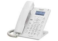 Проводной SIP-телефон Panasonic KX-HDV130RU (белый, черный)