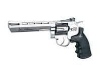 Пистолет пневматический (револьвер)  Dan Wesson 6 Silver (пневматика) (пневматический пистолет) 16559