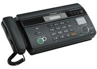 Факс на термобумаге Panasonic KX-FT988RUB (ЧЕРНЫЙ)