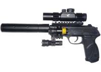 Пневматический пистолет Gamo PT- 85 Tactical Blowback pellet 4,5 мм