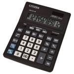 Калькулятор настольный CITIZEN CDB-1201 BK. Аналог калькулятора Citizen SDC-444S. (Новая экономичная линейка калькуляторов CITIZEN)