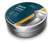 ПУЛИ ДЛЯ ПНЕВМАТИКИ H&N MATCH HEAVY КАЛ.4.5, 0,53 ГР., 500 ШТ., ГЕРМАНИЯ